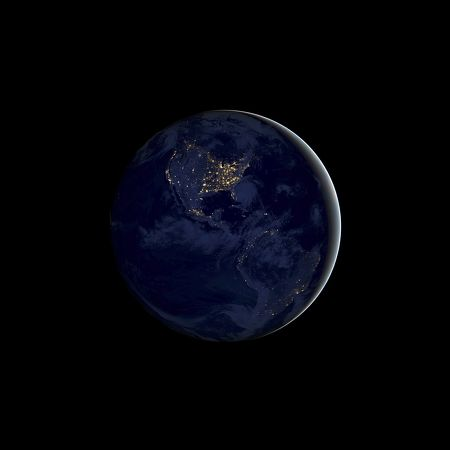 Wallpaper Earth Night