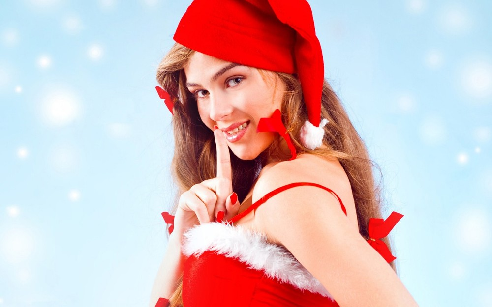 Santa Girls HQ Wallpapers-27