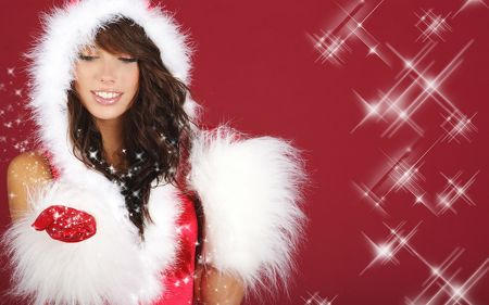 Santa Girls HQ Wallpapers-18